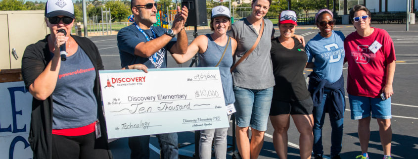 $10,000 presented to Discovery Elementary School