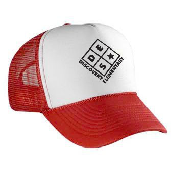 DES Trucker Hat - Red