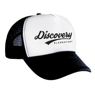 Throwback Trucker Hat - Black