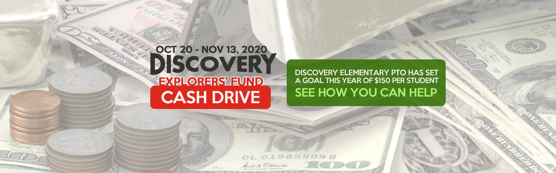 Explorers' Fund Cash Drive