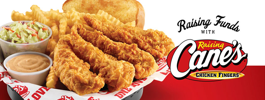 Raising Cane's Dine Out